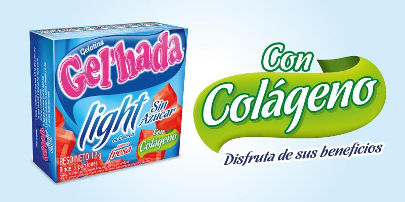 Gelatina Light con Colágeno