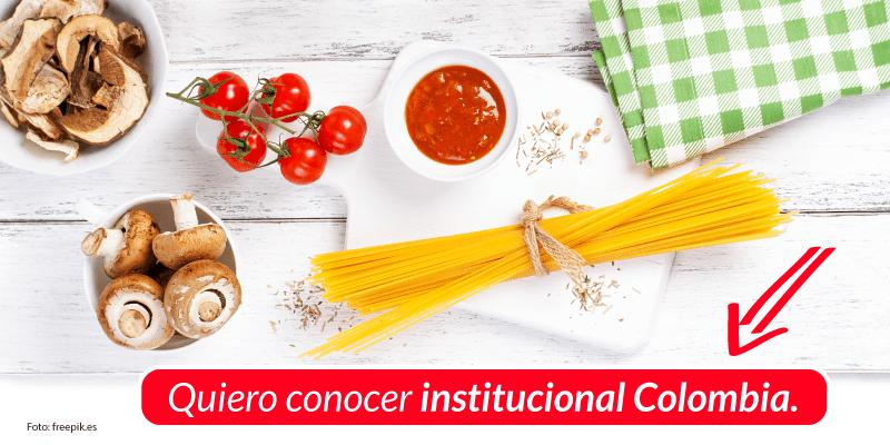 Gastronomía Institucional Colombia